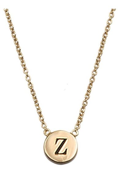 Ketting Character Necklace Letter Z Gold