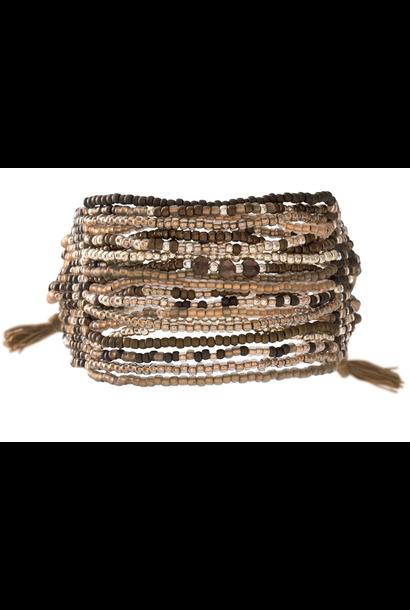Armband Brilliant Smokey Quartz Silver Bracelet