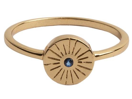 Ring Magique Ring Coin Burst Blue-1