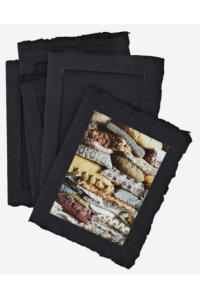 Fotolijst Paper Pulp 13x18cm black
