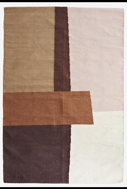 Vloerkleed hand woven cotton rug 120x180cm