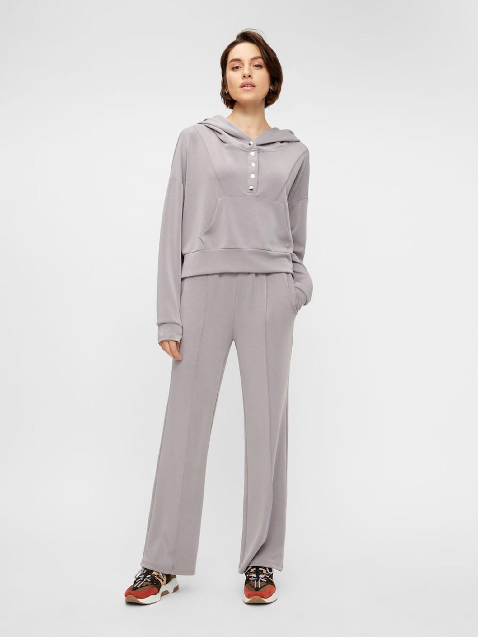 Broek Yascomo sweatpants medium grey melange-3