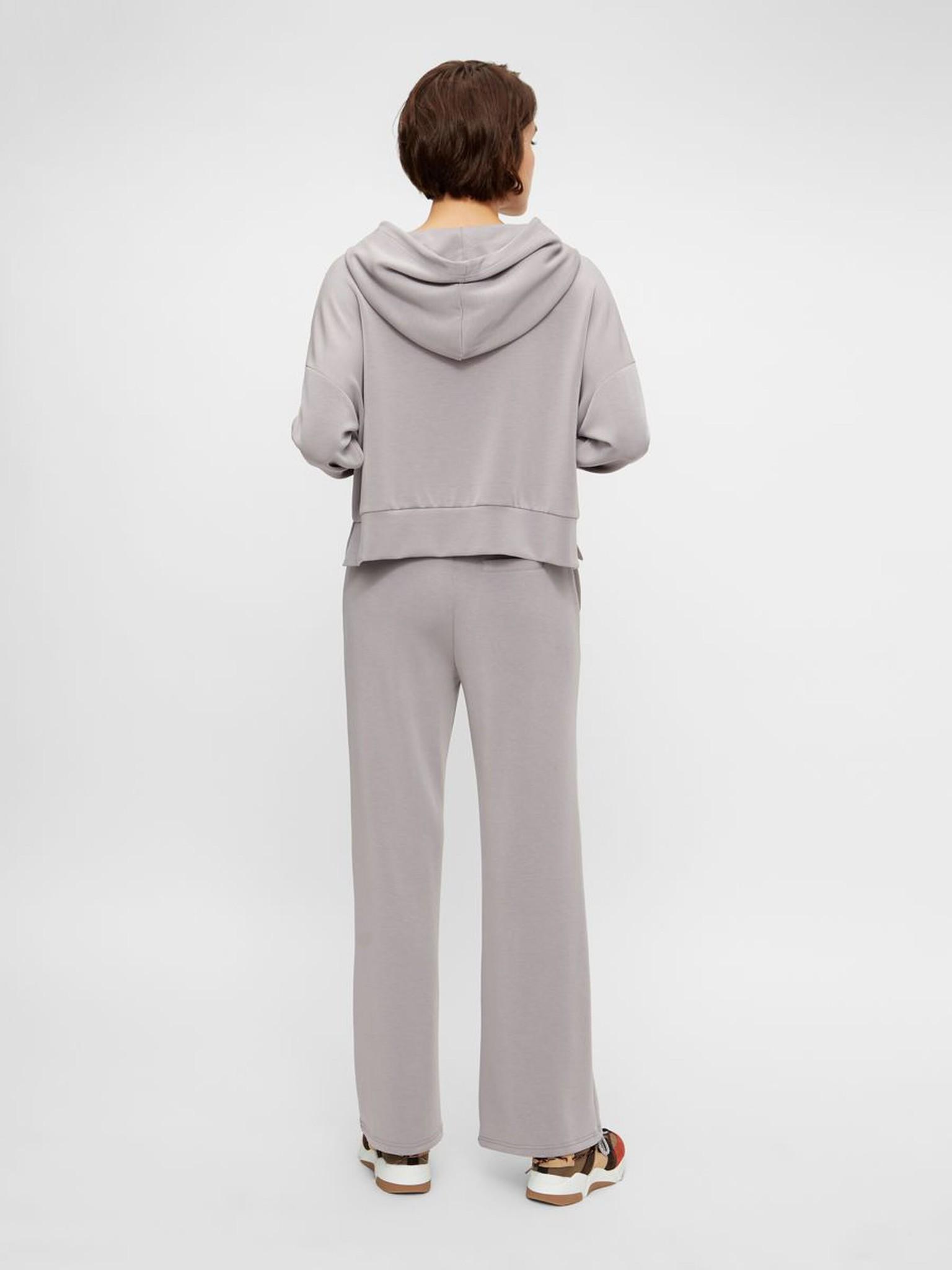 Broek Yascomo sweatpants medium grey melange-4