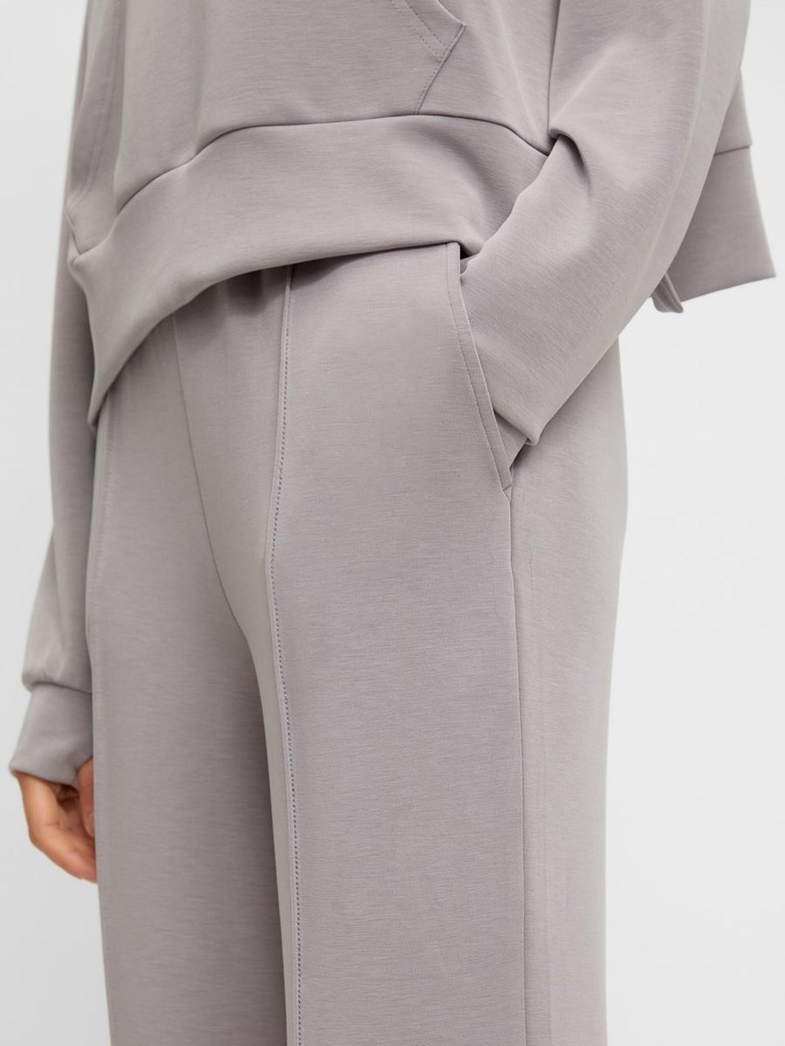 Broek Yascomo sweatpants medium grey melange-2