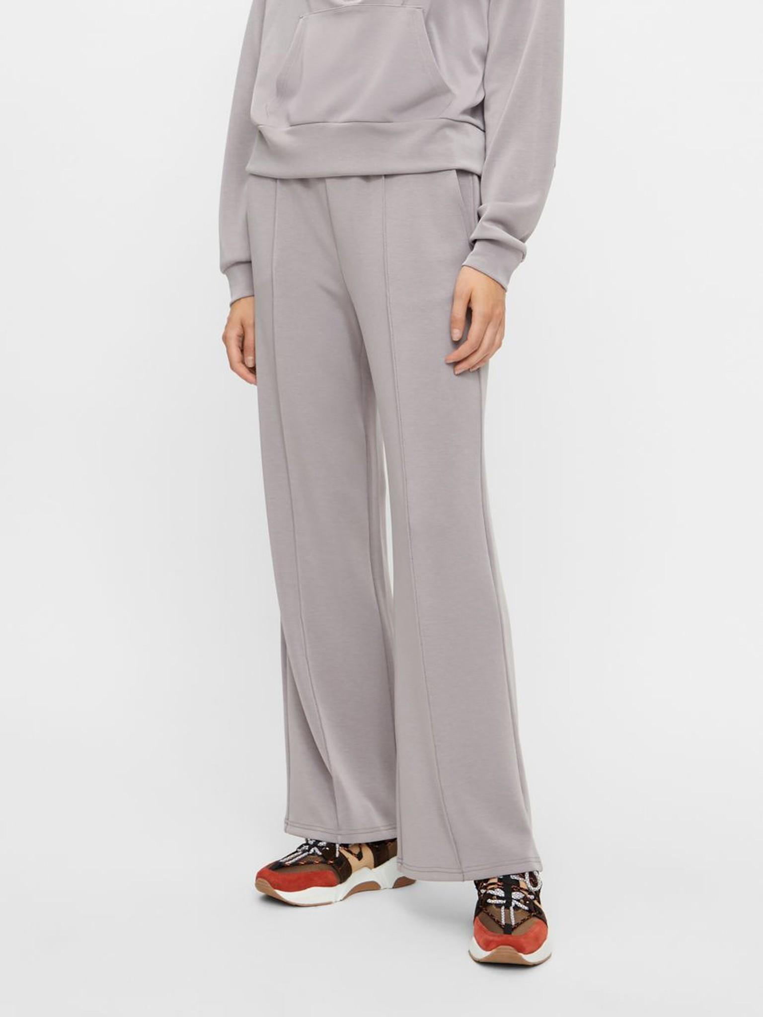 Broek Yascomo sweatpants medium grey melange-1