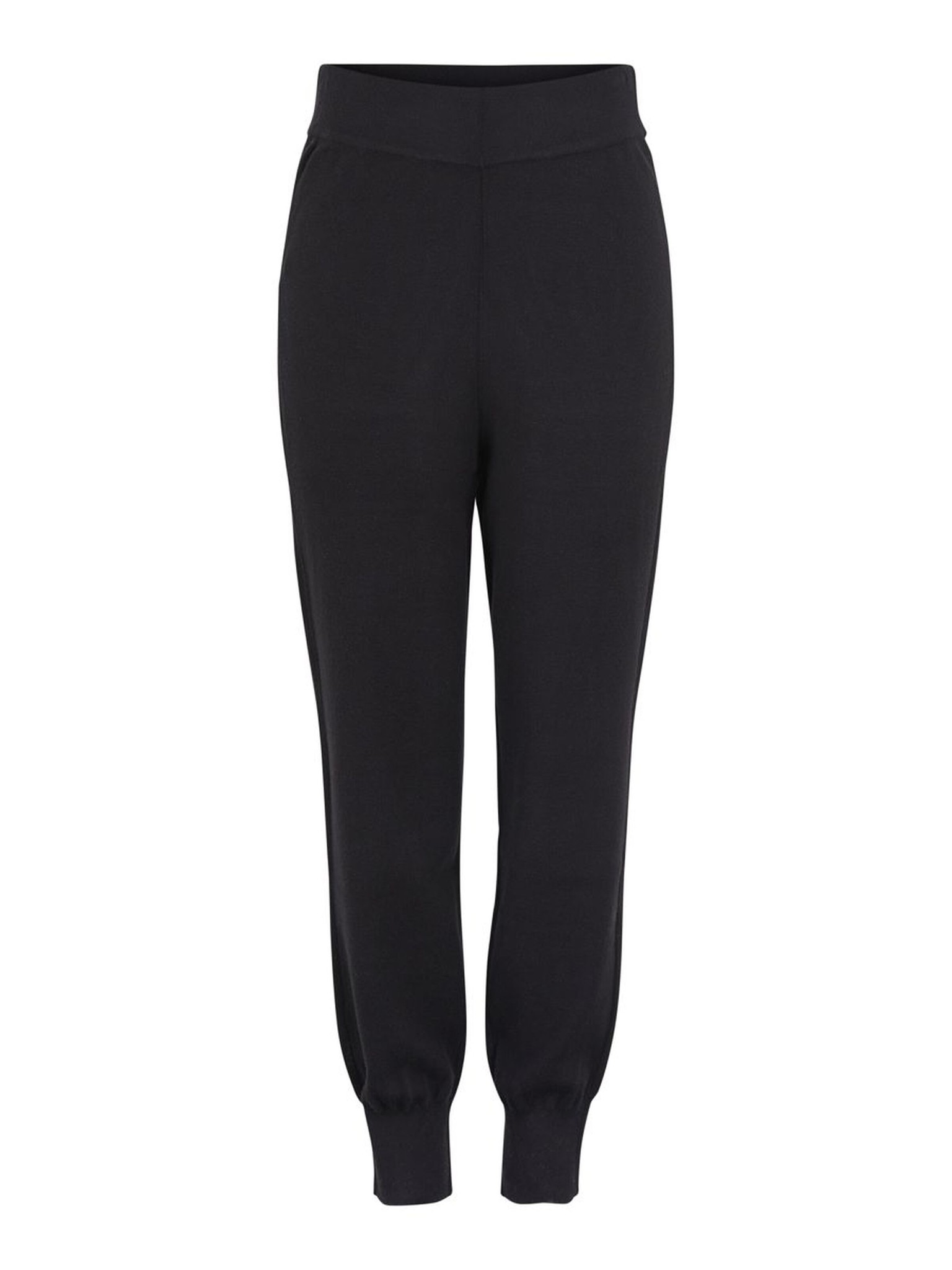 Broek Yasfonny knit pants black-1