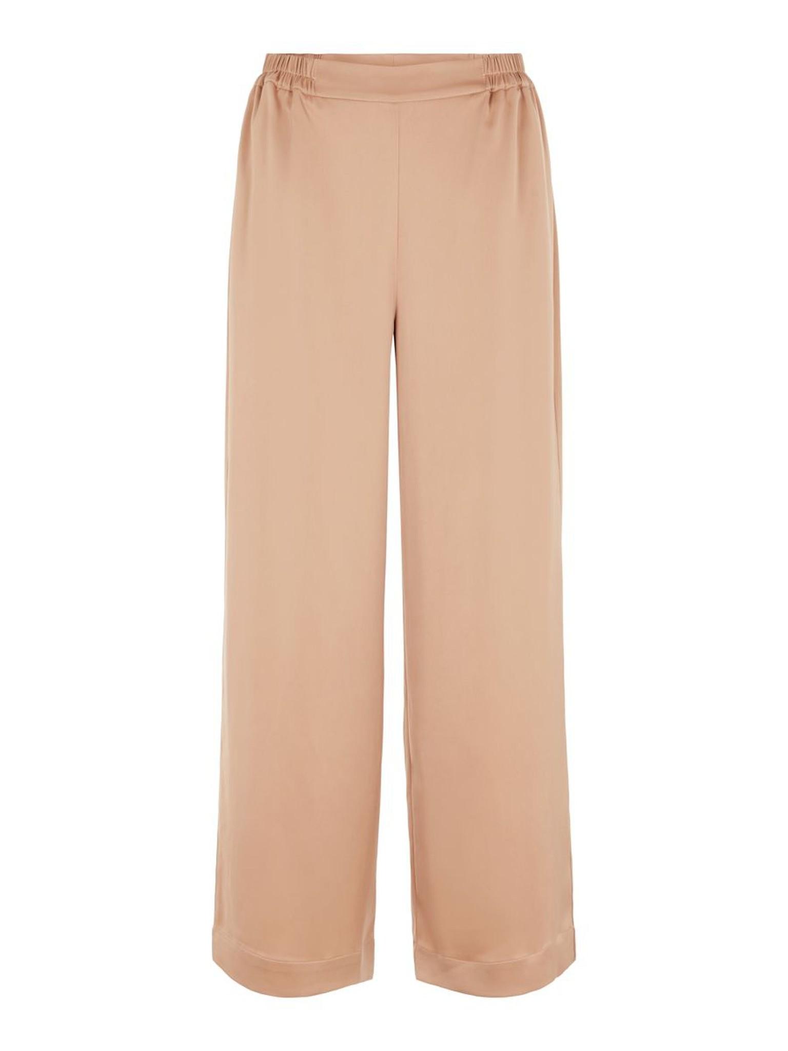 Broek Yasteresa cropped pants tawny brown-1
