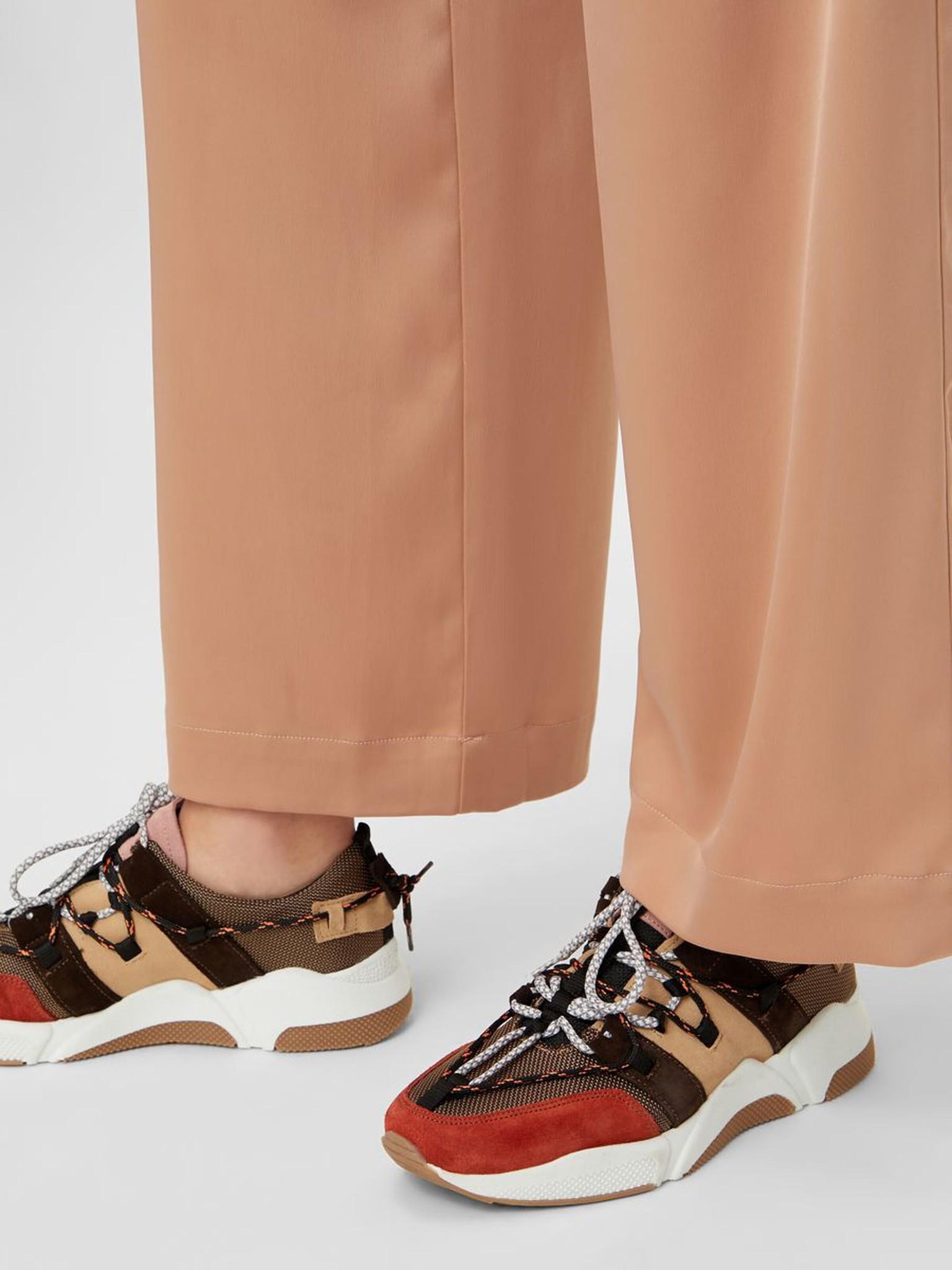 Broek Yasteresa cropped pants tawny brown-3