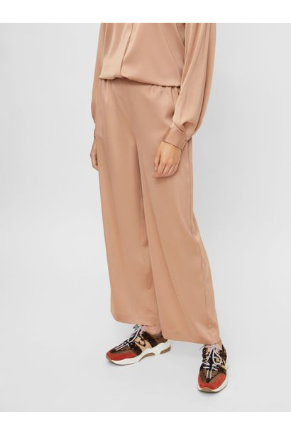 Broek Yasteresa cropped pants tawny brown