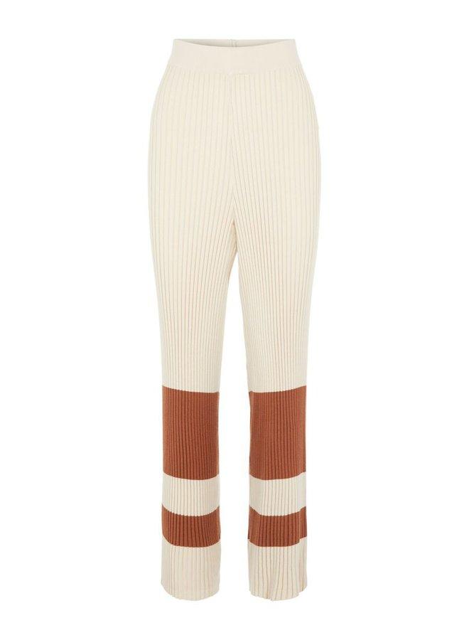 Broek Yascecilie wide knit