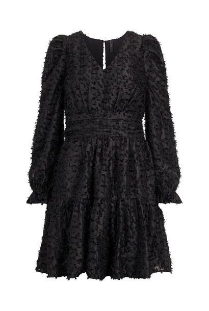 Jurk Vivian dress black