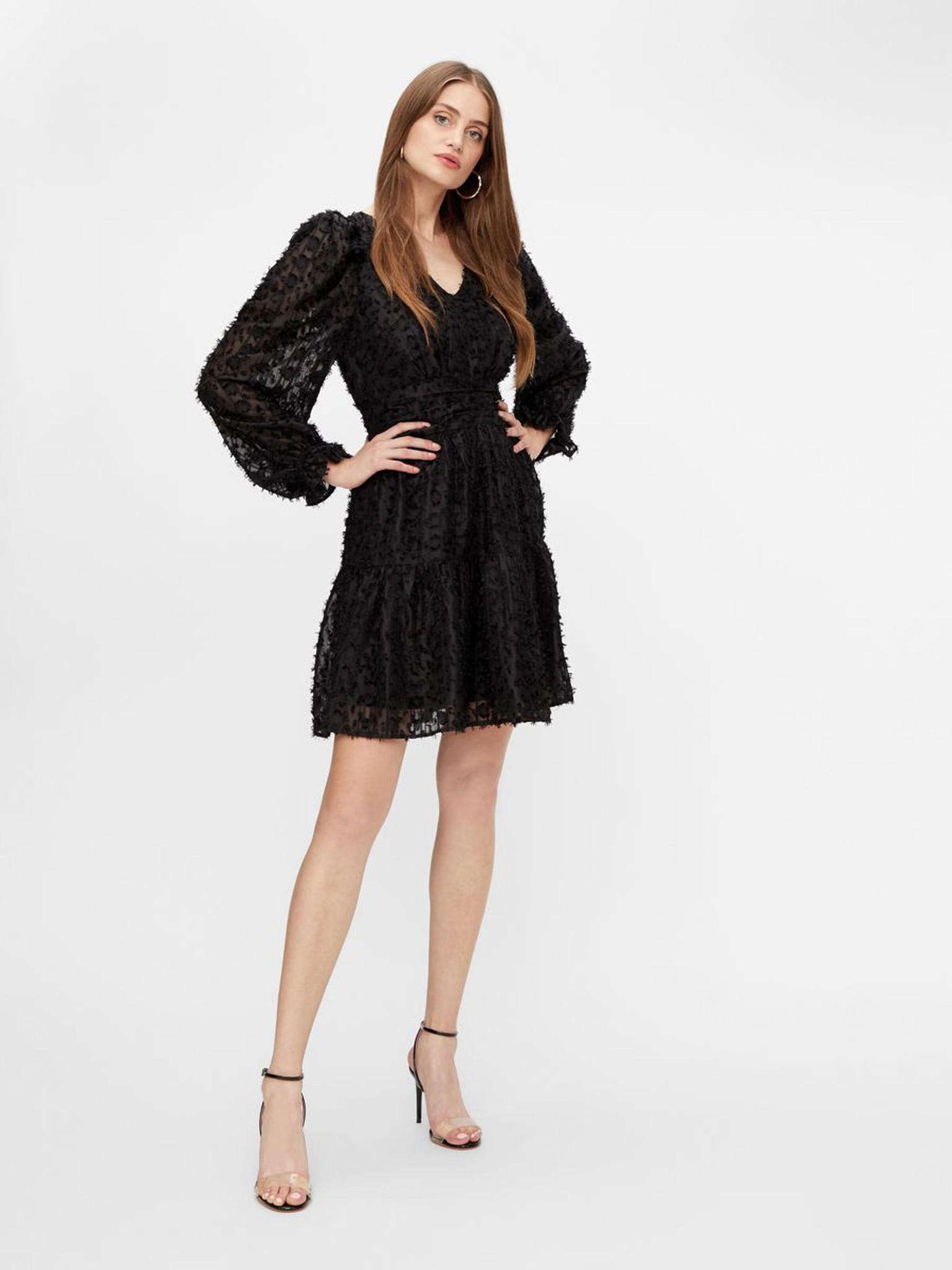 Jurk Vivian dress black-2