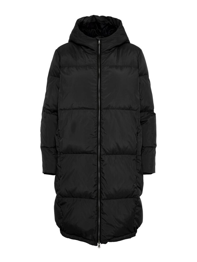Jas Yasmillys down jacket black-1