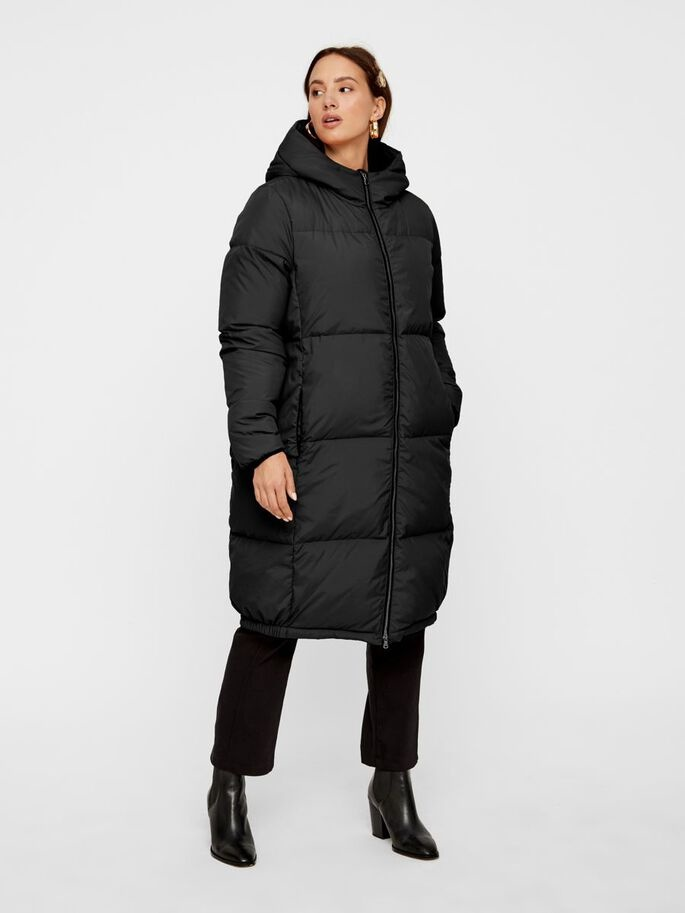 Jas Yasmillys down jacket black-2