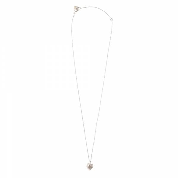 Ketting Delicate Heart Silver Necklace-2