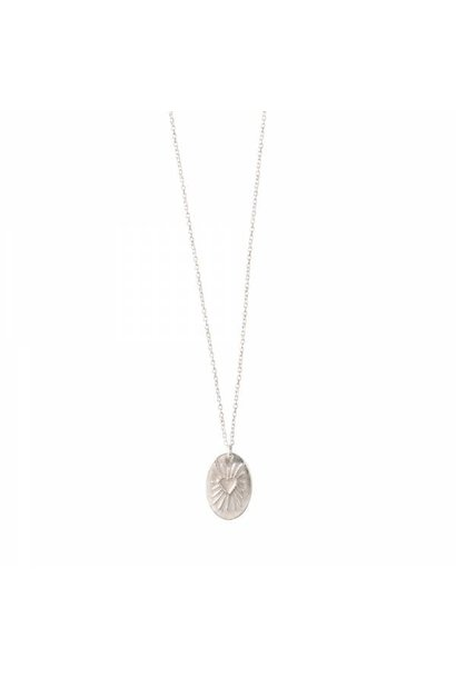 Ketting Wonderful Heartshine Silver Necklace