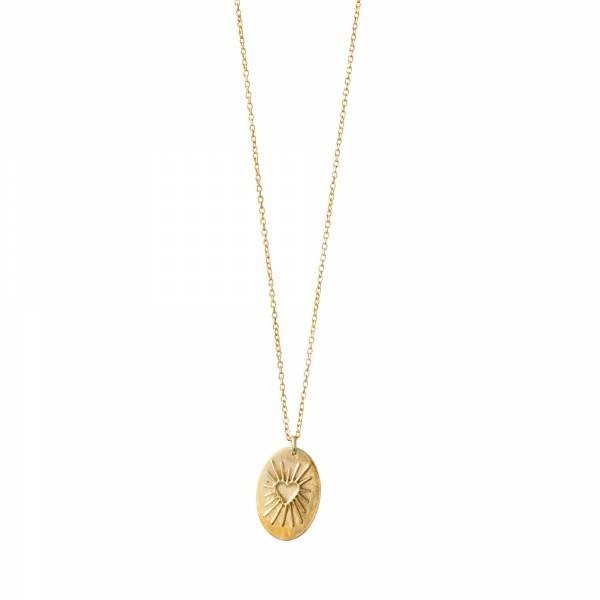 Ketting Wonderful Heartshine Gold Necklace-1