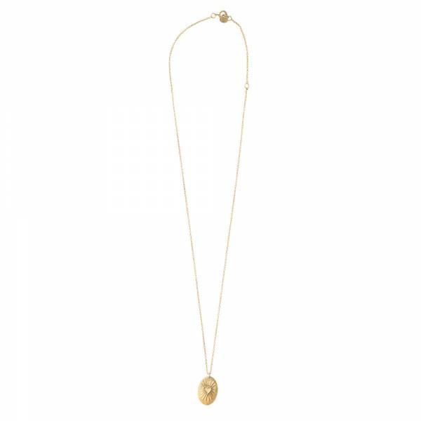 Ketting Wonderful Heartshine Gold Necklace-3