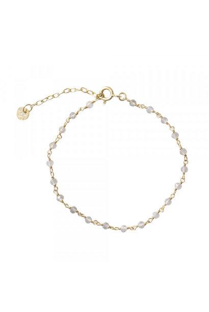 Armband Harmony Labradorite Gold Bracelet