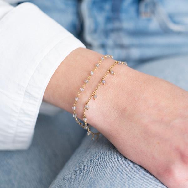 Armband Harmony Labradorite Gold Bracelet-2
