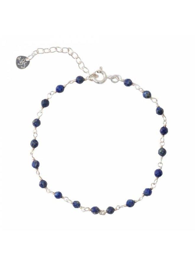 Armband Harmony Lapis Lazuli Sterling Silver Bracelet