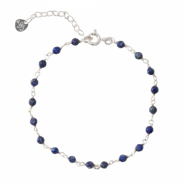 Armband Harmony Lapis Lazuli Sterling Silver Bracelet-1