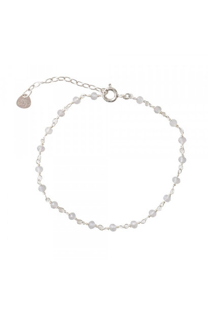Armband Harmony Rose Quartz Sterling Silver Bracelet