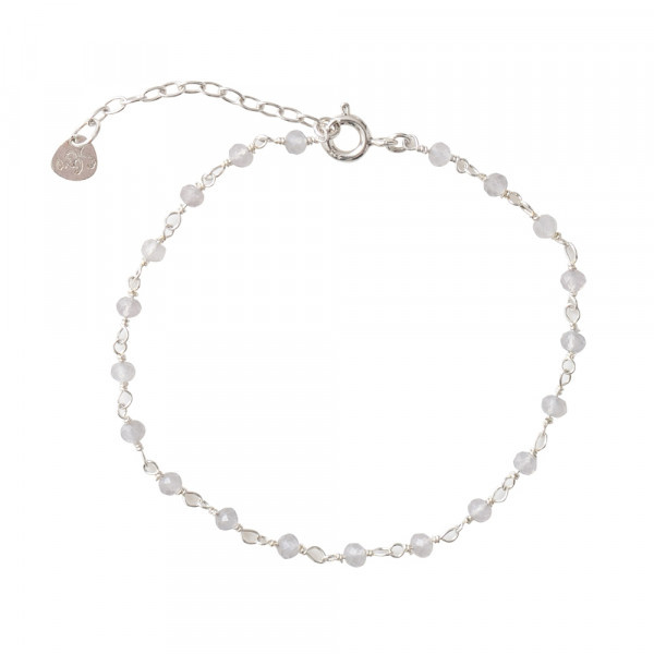 Armband Harmony Rose Quartz Sterling Silver Bracelet-1