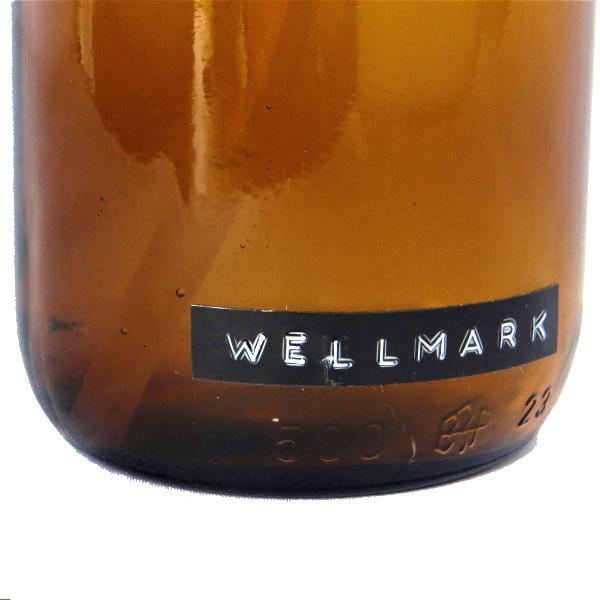 Afwasmiddel bruin glas met zwart stalen pomp 500ml  'Get dirty with me'-3