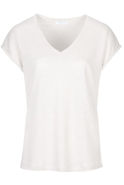 T-shirt Mila linen off white Noos