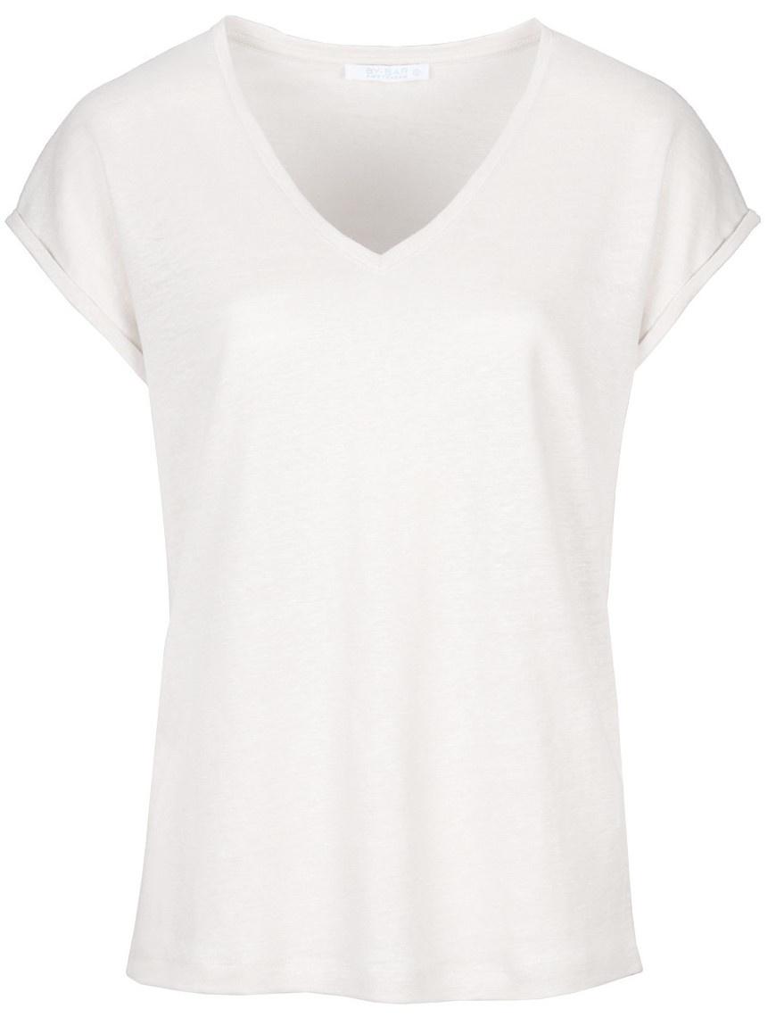 T-shirt Mila linen off white Noos-1