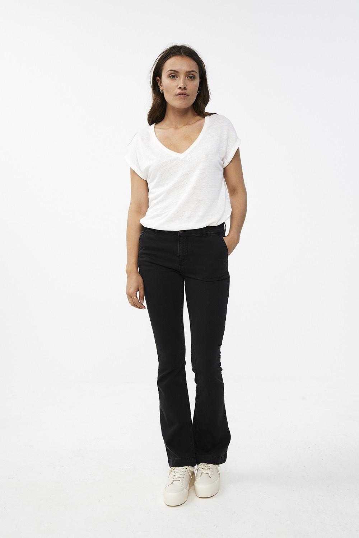 T-shirt Mila linen off white Noos-2