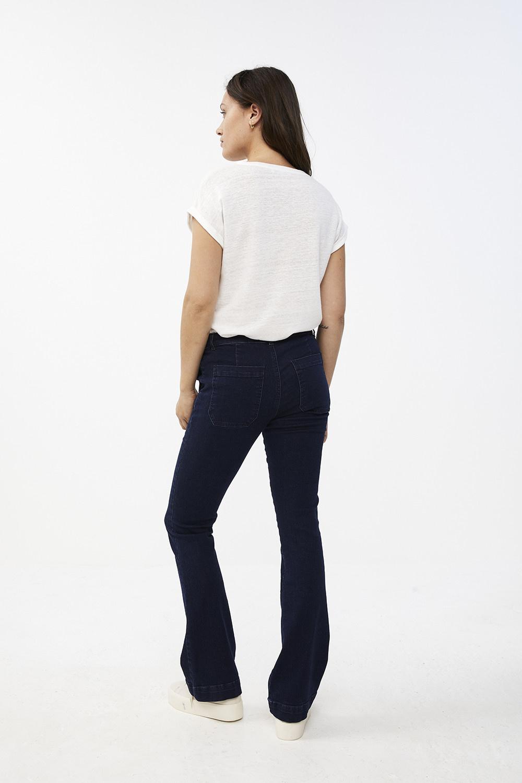T-shirt Mila linen off white Noos-6