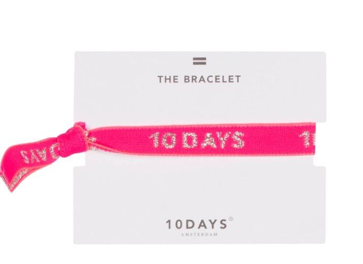 Armbandje elastic bracelet candy pink-1