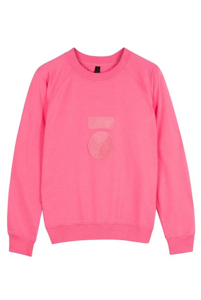 Trui terry candy pink