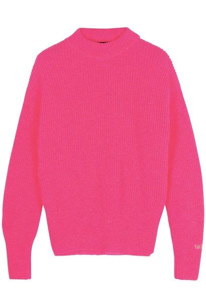 Trui soft knit candy pink