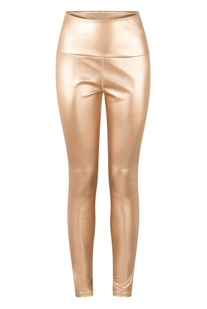 Legging Yoga Metallic gold
