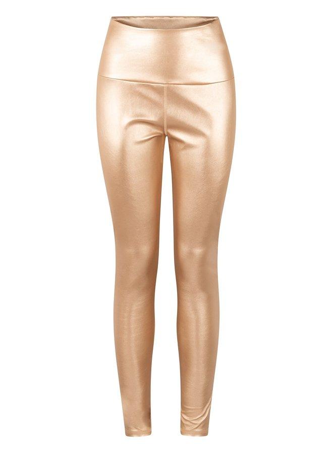 Legging Yoga Metallic gold