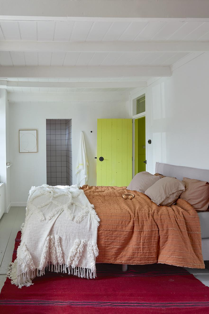 Bedsprei white fringe bedspread 270x270-2