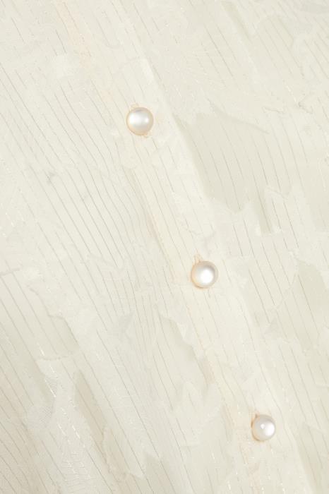 Blouse KAkarol Tapioca Silver Lur-6