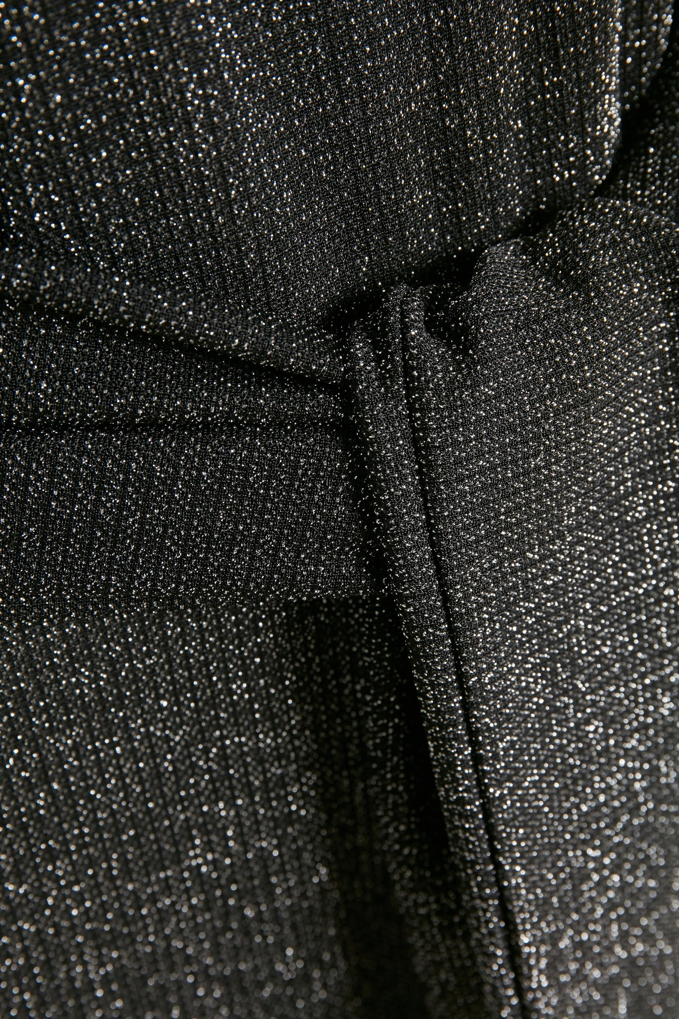 Jumpsuit KAjoy Cropped Black Silver Lurex-5