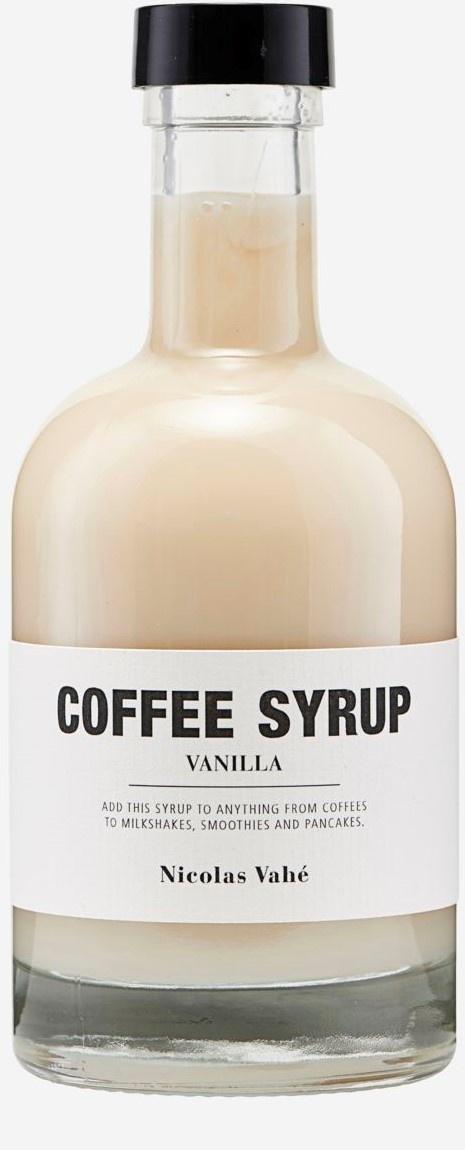 Coffee Syrup Vanilla 25cl-1