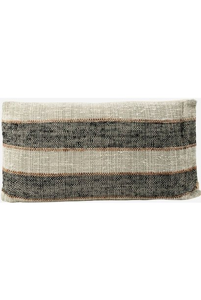 Kussenhoes cushion cover linn grey 40x75