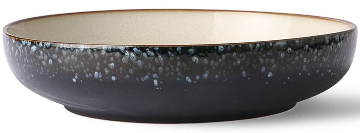 Kom ceramic 70's salad bowl galaxy-1