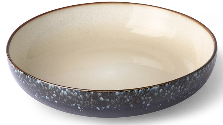 Kom ceramic 70's salad bowl galaxy-3
