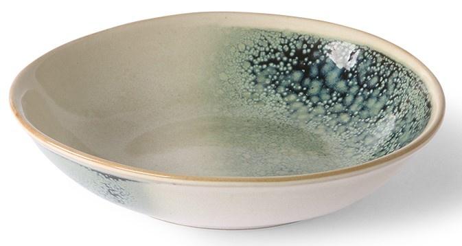Kom ceramic 70's curry bowls mist set of 2-4