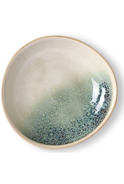 Kom ceramic 70's curry bowls mist set of 2