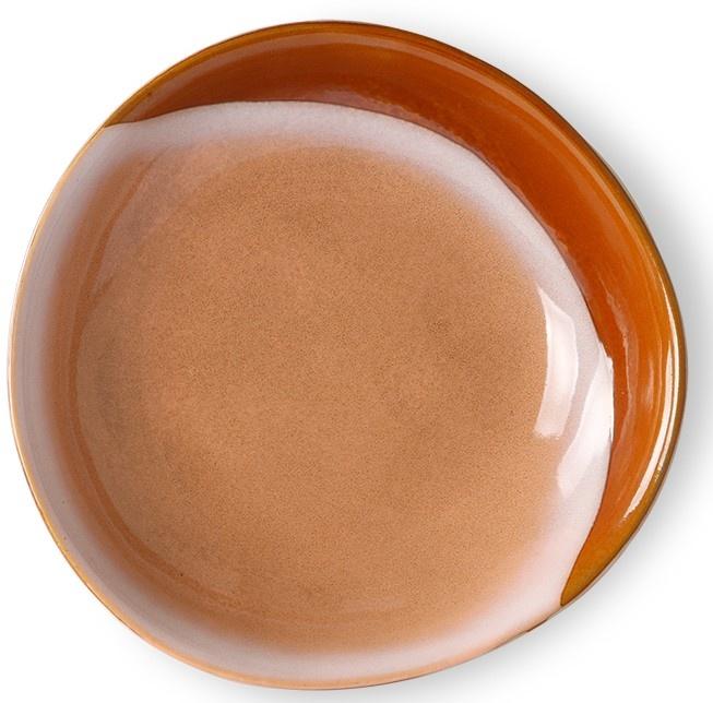 Kom ceramic 70's curry bowls hills set of 2-1