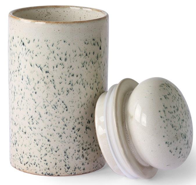 Opslag pot ceramic 70's storage jar hail-3