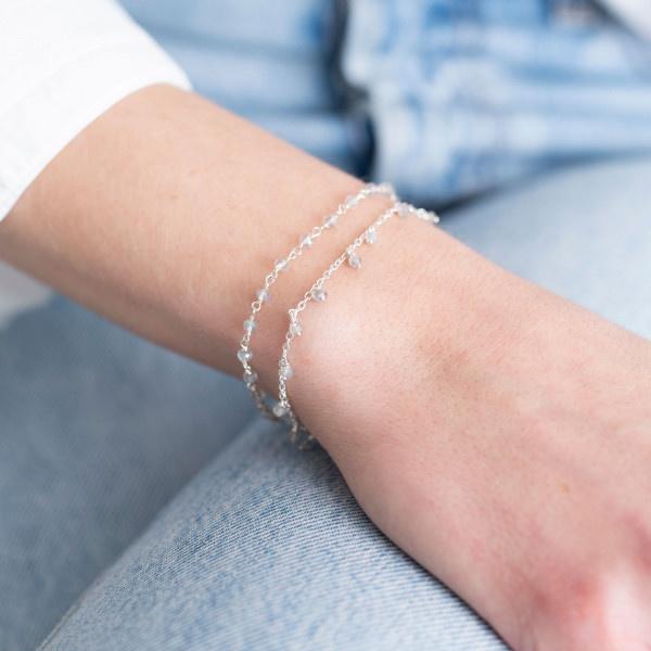 Armband Harmony Labradorite Sterling Silver Bracelet-2